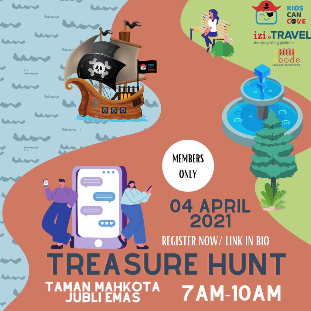 BKCC Treasure Hunt Poster