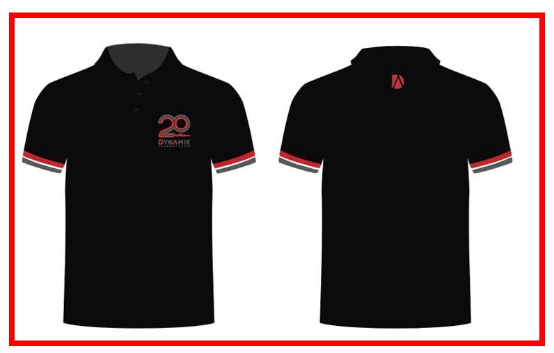 Dynamik Technologies 20th Anniversary Polo T-Shirt