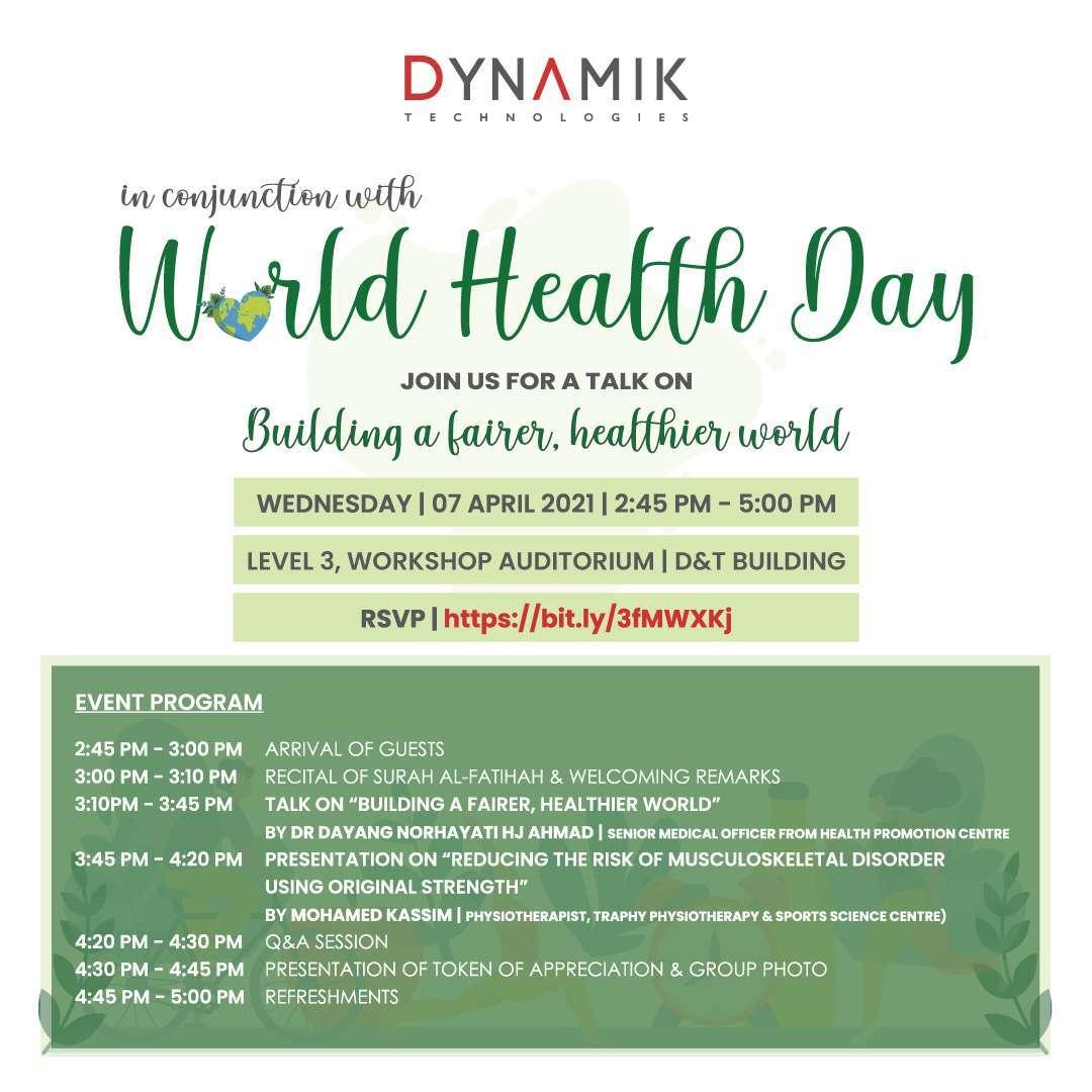 Event Registration – ADTP World Health Day 2021
