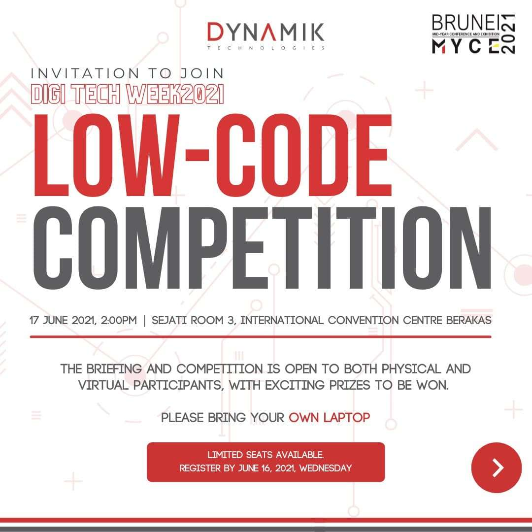 Event Registration – DYMK Low-Code Competition
