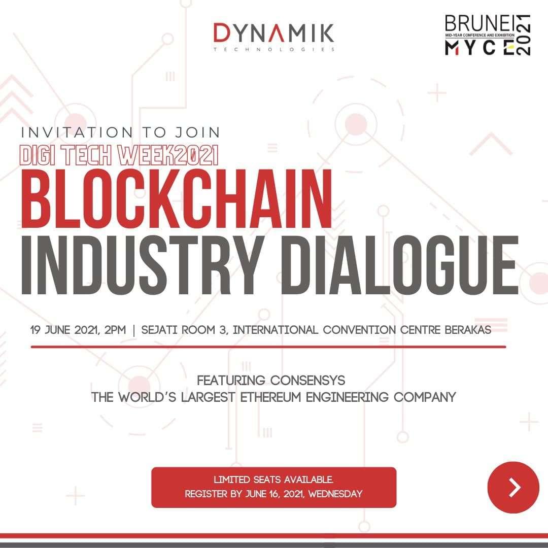 Event Registration – DYMK Blockchain Industry Dialogue
